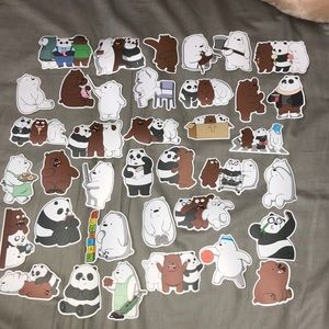 WE BARE BEAR STICKERS